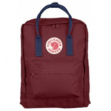 Рюкзак Kanken Classic Ox Red Royal Blue / Бордовый с синим